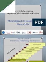 3 Alcances e Hipòtesis Cajamarca IX Marzo 2014