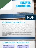 Ensayos Salmonella