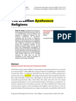 The Brazilian Ayahuasca Religions.