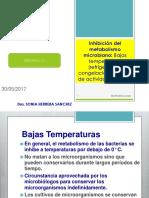 11-Inhibicion Del Metabolismo Microbiana Congelacion Refrigeracion y Aw