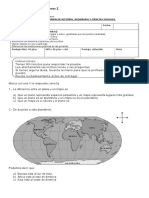 Certamen Historia y Geografia 3 Basico