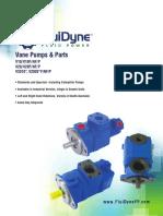 Vane Pumps & Parts - V10, V20, V2010, V2020 FLUIDYNE