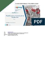 Sistema de Produccion Industrial y Planificacion