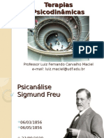 Teorias Psicodinamicas - Psicanalise - Freud - Parte2