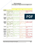 Matriz de Evaluacion Por Competencias