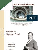 Teorias Psicodinamicas - Psicanalise - Freud - Parte1