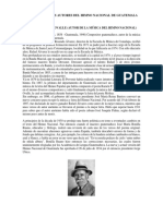 Biografía de Los Autores Del Himno Nacional de Guatemala