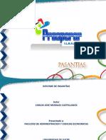 PASANTIAS modelo de informe pasantias