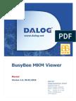 DALOG BusyBee MKM Viewer Manual