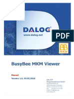 DALOG BusyBee MKM Viewer Manual