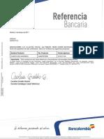 Referencia Cuenta Bancolombia