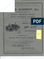 Oscar Schmidt, Inc Catalog 0001