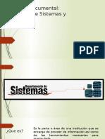 Documentos para sistemas y tesoreria