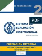 SIE 001 Sistema Institucional de Evauacio n Enero 2017 Docx