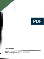 Pierre SALAMA. Estado e Capital