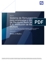Deutsche Bank Manual Remuneraciones