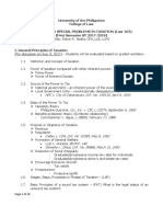 Tax Syllabus (Spit) 2015