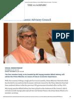 Modi Revives Economic Advisory Council, Bibek Debroy to Head It - The Hindu