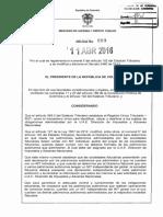 Decreto 589 Del 11 de Abril de 2016