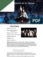 Primer Portafolio Del Fantasma de La Opera