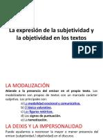 LA EXPRESIÓN DE LA SUBJETIVIDAD.ppt