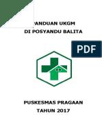 Cover Panduan Ukgm Di Posyandu Balita