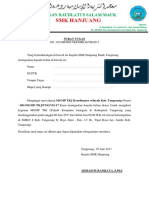 Surat Tugas MGMP