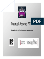 Manual Acceso Ftp Winter Music