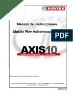 AXIS10 V5 Spanisch