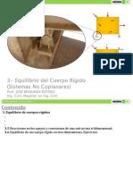 3- Equilibrio del C.R. - No Coplanares.pdf