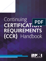 Ccr Certification Requirements Handbook