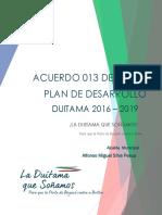Plan de Desarrollo Acuerdo 013_ Duitama