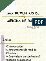 Instrumentos de Medida de Ruido