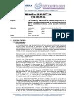 MEMORIA DESCRIPTIVA VALORIZADA FECH - UNJBG.docx