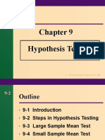 0 Hypothesis Testing