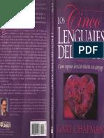 Chapman Gary Los Cinco Lenguajes Del Amor