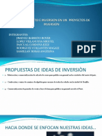 Financiamiento e Inversion