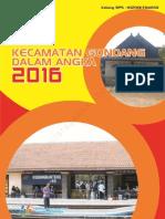 Kecamatan Gondang Dalam Angka 2016