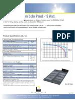 Spec Sheet 12 Watt
