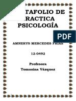 Portafolio de Practica Psicologica
