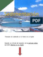 SEDIMENTADORES (ESPESADORES)