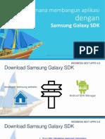 Knowledge Session - Samsung SDK (Indonesian)