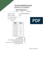 JNTU K Result Analysis