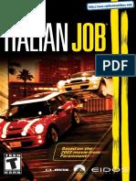 The Italian Job - Manual - PS2