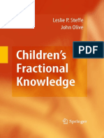 Childrens Fractional Knowledge