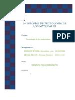 2 Informe de Tecnologia de Los Materiales