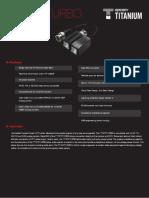 Especificaciones técnicas TT101FTURBO