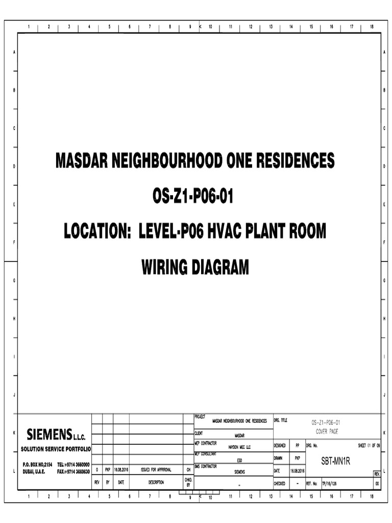 Wiring Diagram for BMS (DDC Panel)
