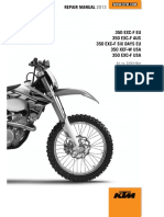 2013 KTM 350 EXC shop-repair Manual