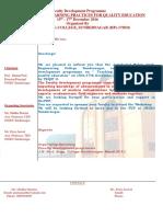 Invitation FDP